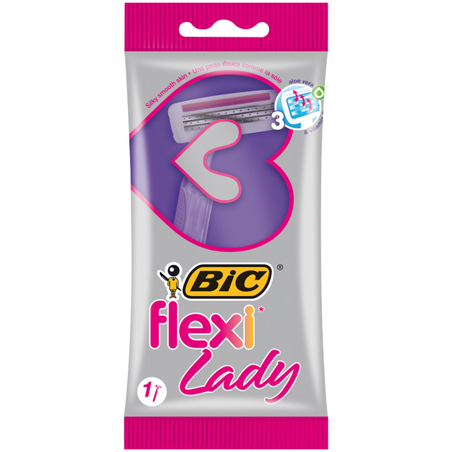 ženski brijač BIC Flexy Lady
